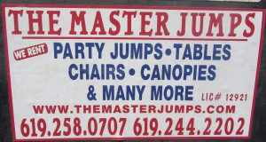Contact The Master Jumps