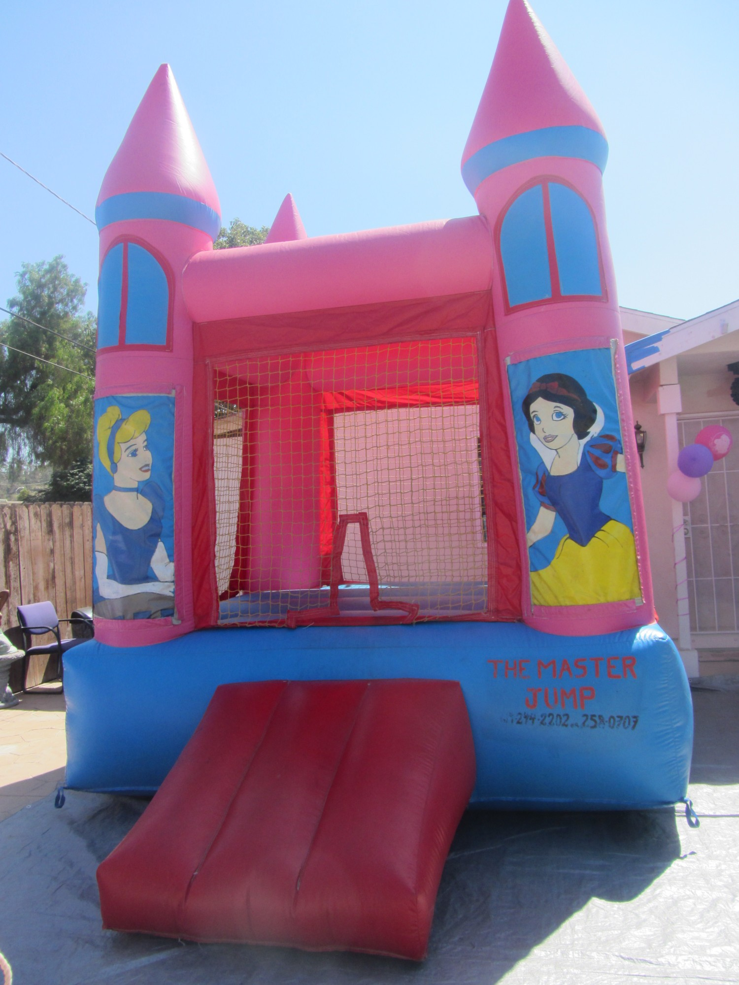 Disney Princesses Bounce House for Party Rental